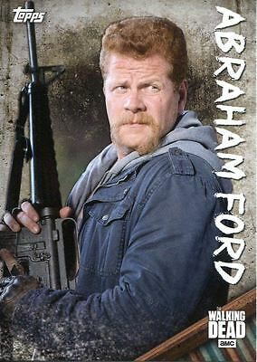 Walking Dead Season 6 Character Chase Card C-11 Abraham Ford