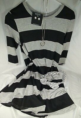 Lot of Women's/juniors size small outfit, dress, Jewelry, headband, NWT $57+