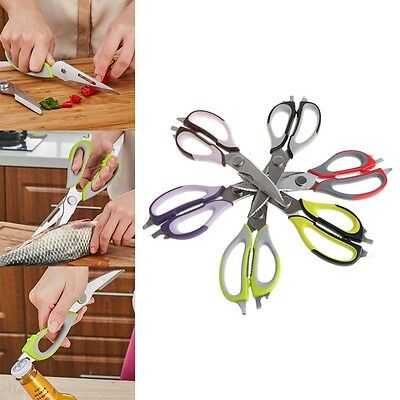 Multifunction Kitchen Scissors Fish Cutter Chicken Shears Cooking Gadget