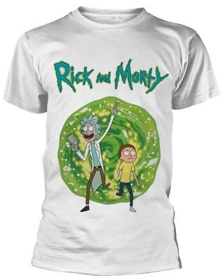 Rick And Morty 'Portal' T-Shirt - NEW & OFFICIAL!