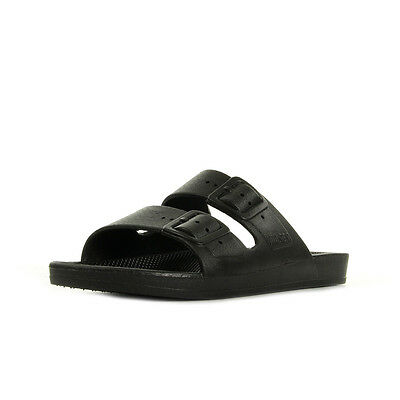 Sandales Nu Pieds Moses unisexe Freedom Slippers Black taille Noir Noire