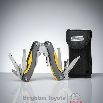 New Official Toyota Merchandise Hilux Multi-Tool POUCH  Part TMHIL004