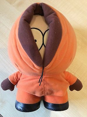 "Used Vintage South Park 10"" Kenny Soft Plush Toy 1998 Central Comedy."