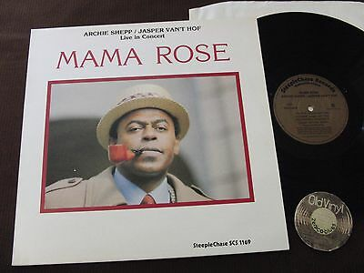 LP Archie Shepp Jasper Van't Hof Mama Rose Germany 1985 | M- to EX