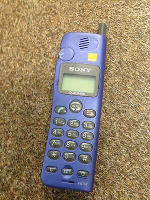 Sony CD5E Dual Band Retro Mobile Phone On Orange*SAME DAY DISPATCH**