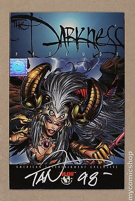 Darkness Prelude (1996 1st Series) #1WIZSIGNED VF- 7.5