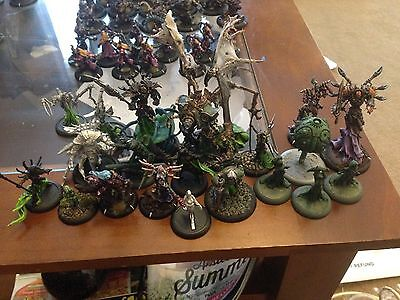Warmachine Large Painted Cryx Army plus extras
