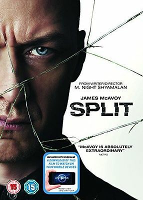 **NEW** - Split (DVD + Digital Download) [2017] 5053083109516