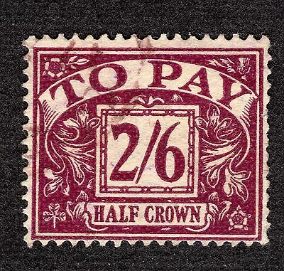 Postage Due 1954 2/6 SG D45 FINE Used R35562