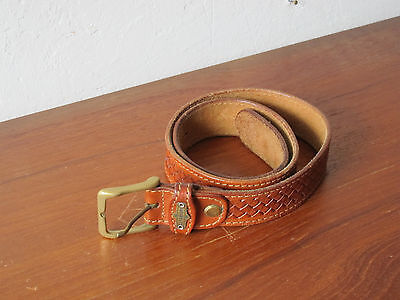 Vintage Leder Gürtel El Campero leather belt