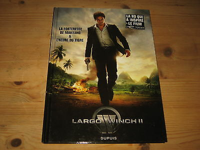 Bd Double Largo Winch Ii, Aventures 7 & 8 Makiling & Tigre - Dupuis Be / Tbe