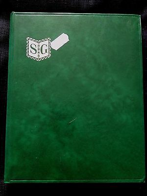 Stanley Gibbons 32 Page A5 Stamp Stockbook - Green - Used - Very Good