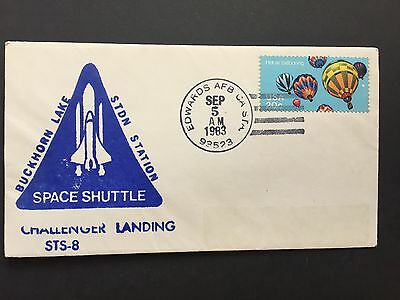 1983 US Cover Challenger Landing STS-8