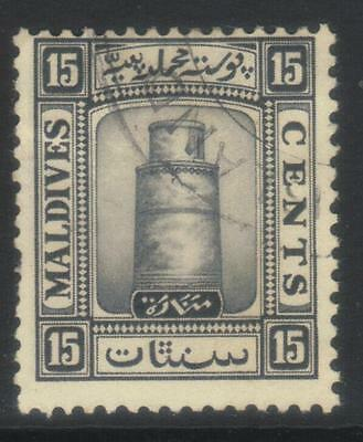 Maldive Is 1933 Defins Sg17 Used Cat £28