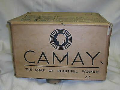 Vintage 1920-30's CAMAY Box Case Only The Soap of Beautiful Women