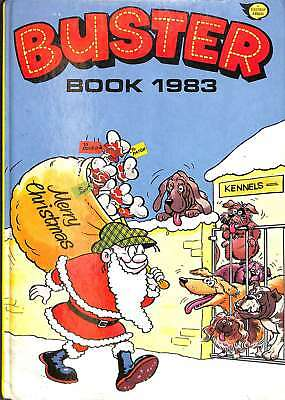 Buster Book 1983, Good Condition Book, a fleetway annual, ISBN