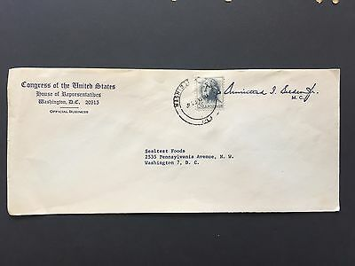 US Cover Congress of the United States Official Envelope
