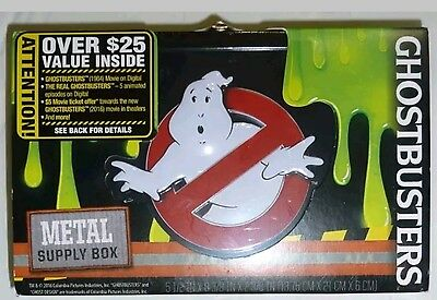 Ghostbusters Themed Metal Supply Box
