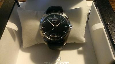 Tissot T-Trend Couturier Black Automatic Men's Watch T0354071605100 With Box