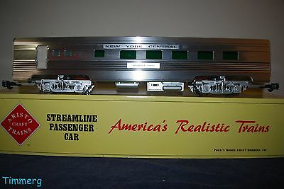 "Aristo-Craft ART-32503 NYC Streamline Aluminum ""Alfred E. Smith"" Dining Car **"