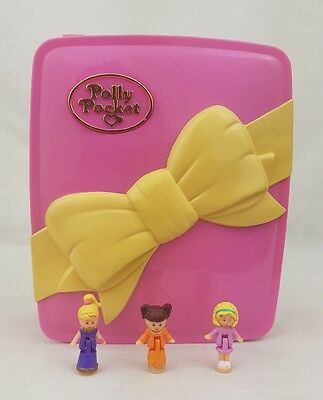 Polly Pocket Star Bright Dinner Party 100% Complete 1994 Excellent