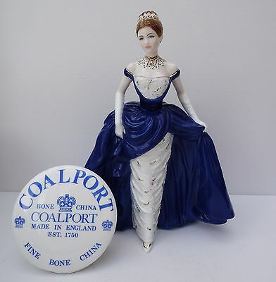 "Coalport Figurine "" Midnight Debut"" Cw865  Limited Edition Large Figure"