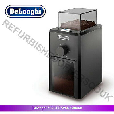 DeLonghi KG79 110W Coffee Grinder - Black