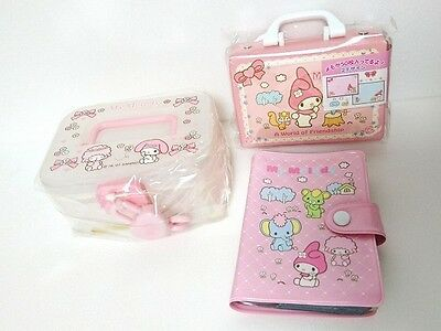 Japan Sanrio My Melody Card file & Note case set New
