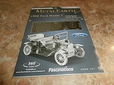 Metal Earth Laser Cut 1908 Model T Ford
