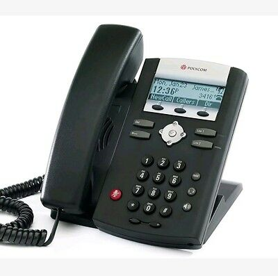Polycom SoundPoint IP 330 IP330 SIP VoIP Phone With Stand