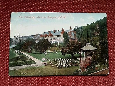1907 Tennis match The Palace and Grounds Douglas Promenade Isle of Man IOM Manx
