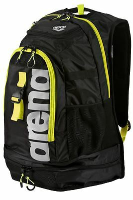 Arena Fastpack 2.1 Backpack- Backpack- Black/Fluo Yellow/Silver