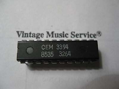 CEM3394 Microprocessor Controllable Synth Voice VCF, VCA, Env (ADSR), VCMix