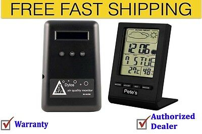 Dylos DC1100 Pro Air Quality Monitor With Humidity Monitor Free Shipping