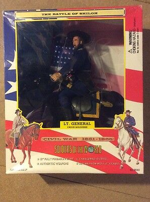 DRAGON Action Man Sotw American Civil War Lt General Officer With Horse 1/6