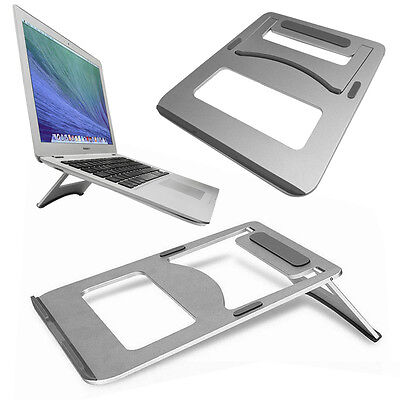 Metal Stand Portable Foldable Cooling NoteBook Desk Stand for Apple Macbook