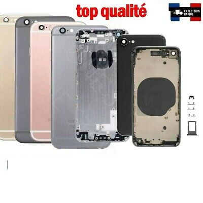 chassis coque arriére iphone 5/5c/5s/6/6splus iphone 7  gris/rose/doré/argenté