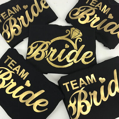 Classy Team Bride Vest Tops Hen Bridal Party PJ Vest Tops