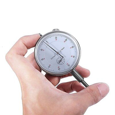Precision Tool 0.01mm Accuracy Measurement Instrument Dial Indicator Gauge FF