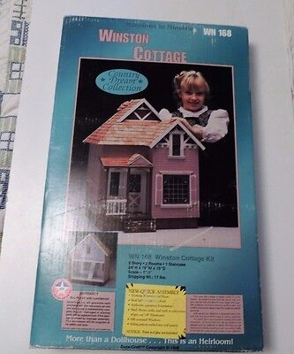WINSTON  dollhouse kit WN168 Heirloom Country Dream Collection NEW NIB