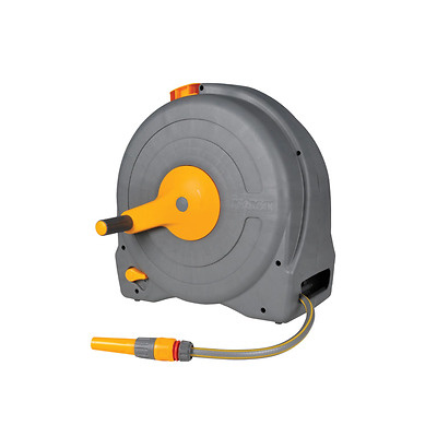 Hozelock 2494 Fast Reel with 40m Hose - Free Standing Enclosed Garden Hose