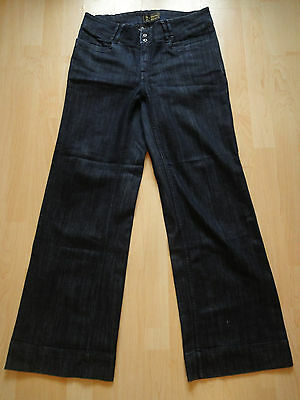 Damen stretch Jeans Hose Gr 42 dark blue Jeanshose
