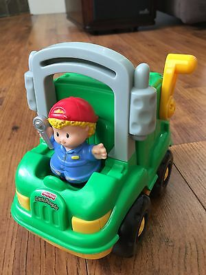 Fisher Price Little People Garbage Truck With Sounds
