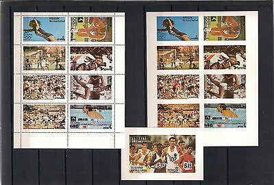 Eynhallow Holy  Islands  Scotland  , Olympics 1980  -  Stamps imperf + perf.