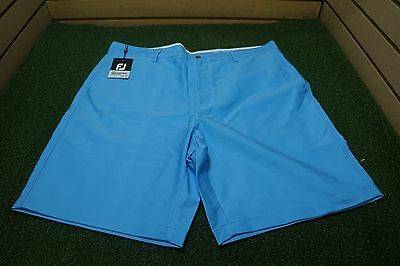 NEW Footjoy Golf Washed Twill Shorts Mens Size  40  Blue 75d