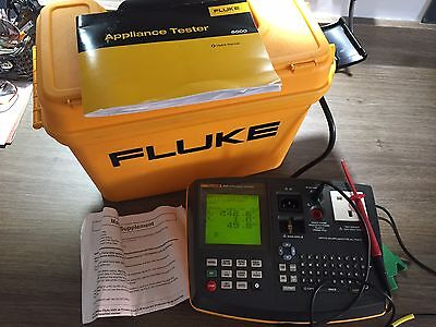 Fluke 6500 pat tester. Very good condition hardy used