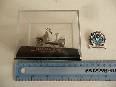 Scooter Vmsc 25Th Anniversary Badge And Scooter Model