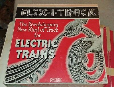 Flexi Track with wooden ties by Parfait in Original Box - Lionel compatible
