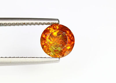 2.04 Cts _Wow !! Unbelivable Hot Sale_100 % Natural Sphalerite_Sunset Orange !!