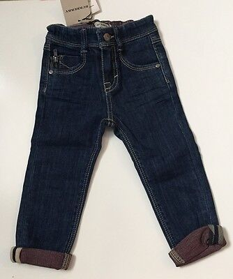 Burberry Blue Slim Fit Jeans 👖 For Boys